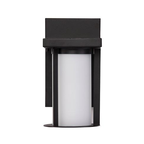 Ranxan Outdoor Sconce LED Lamp Black/White (Includes Energy Efficient Light Bulb) - Aiden Lane - image 1 of 4