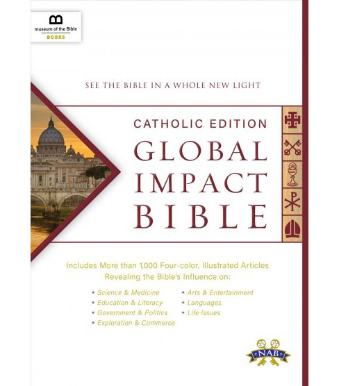Holy Bible : Global Impact Bible, Nabre Catholic Edition See the Bible in a Whole New Light - image 1 of 1