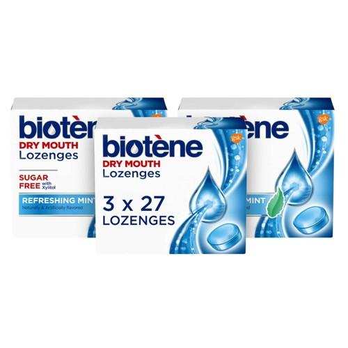 Biotene Dry Mouth Lozenges For Fresh Breath Refreshing Mint