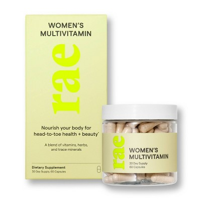Rae Women's Multivitamin Dietary Supplement Capsule - 60ct