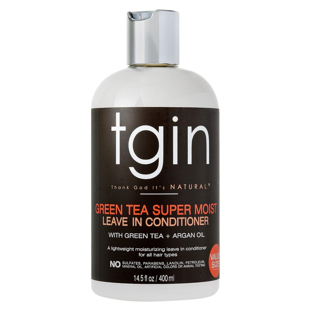Tgin Green Tea Super Moist Leave In Conditioner with Green Tea + Argan Oil - 14.5 fl oz