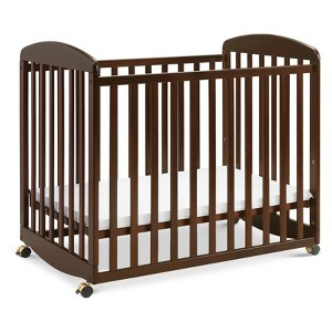 DaVinci Alpha Mini Rocking Crib - Espresso, Brown