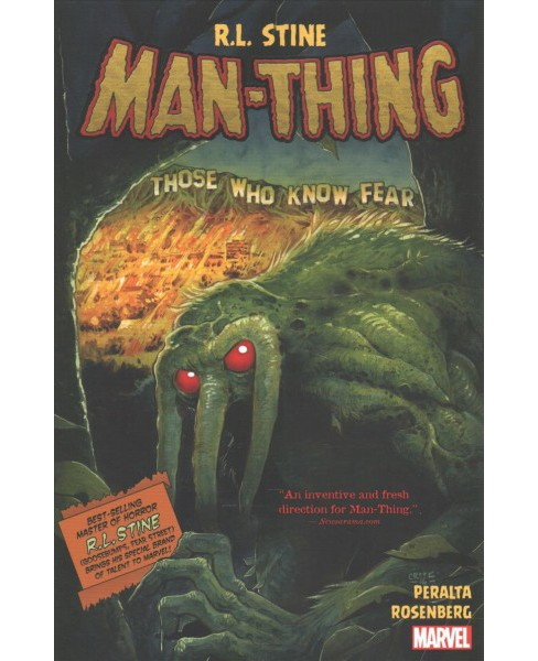 Man-Thing (Paperback) (R. L. Stine) - image 1 of 1