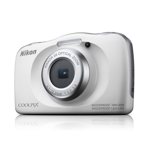 Nikon COOLPIX W150 13.2MP Waterproof Digital Camera with 3x Zoom - White - image 1 of 4