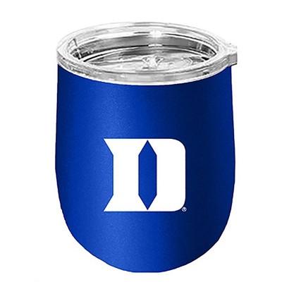 NCAA Duke Blue Devils 14oz Matte Stainless Steel Wine Tumbler