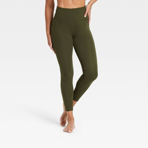 """Women's Contour Curvy High-Rise Leggings with Power Waist 24"""" - All in Motion™ - image 1 of 4"""