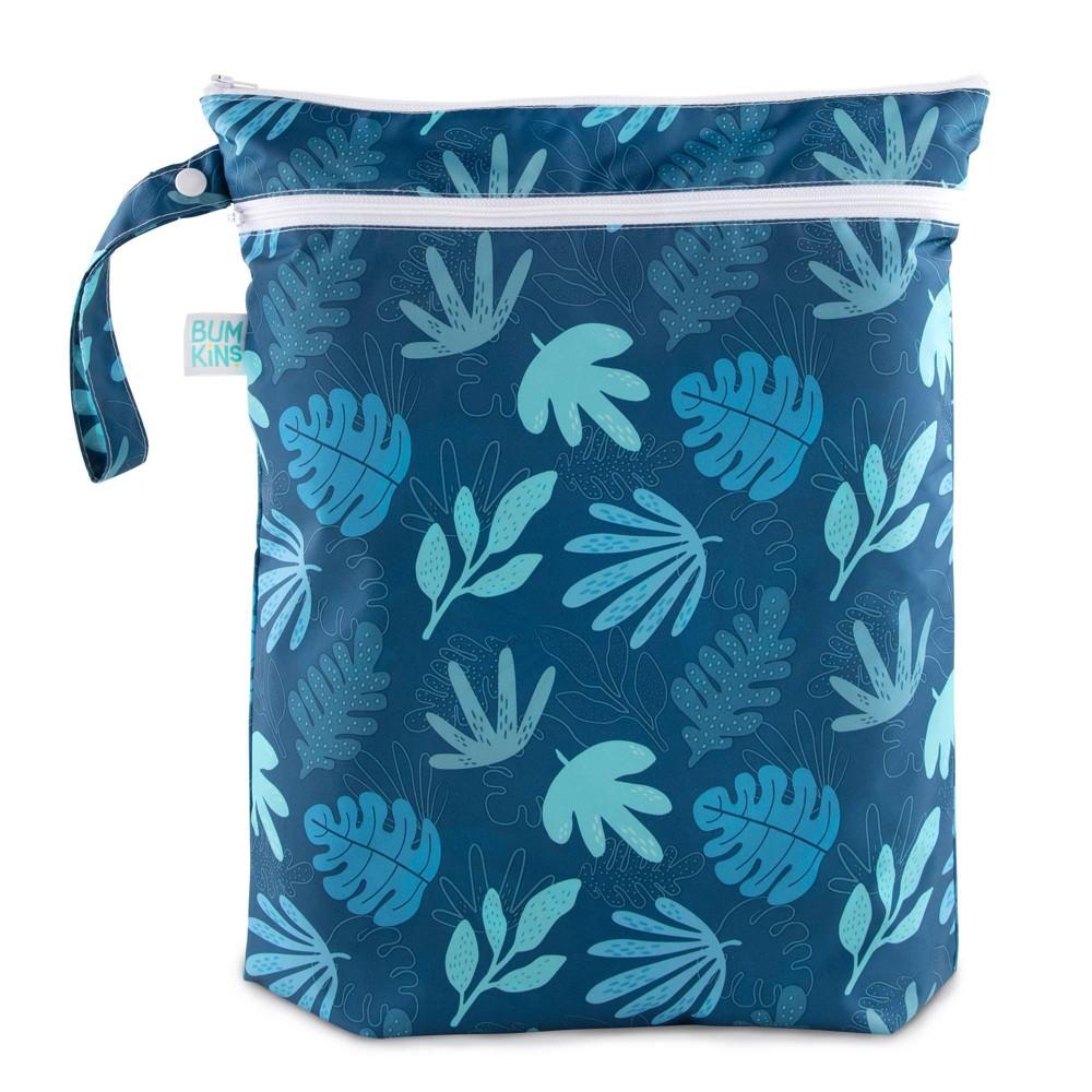 Image of Bumkins Wet/Dry Bag Blue Tropic