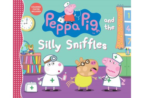 Peppa Pig and the Silly Sniffles -  (Peppa Pig) (School And Library) - image 1 of 1
