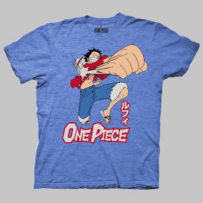 Men's Short Sleeve Graphic T-Shirt - Heather Blue