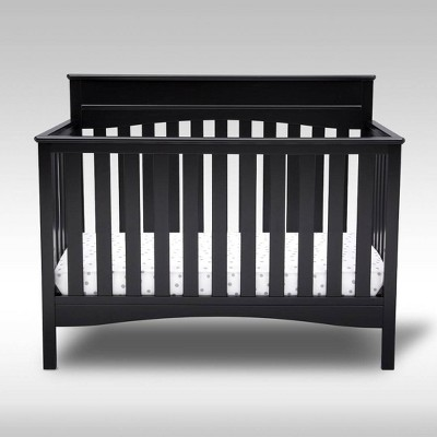 Delta Children Skylar 4-in-1 Convertible Crib - Black