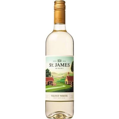 St James Velvet White Wine - 750ml Bottle