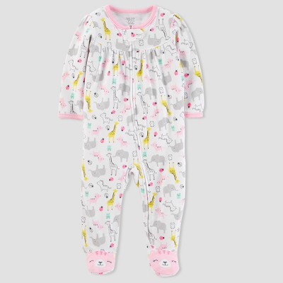 Baby Girls' Safari Sleep N' Play - Just One You® made by carter's Yellow Newborn