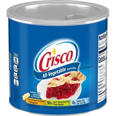 Crisco All-Vegetable Shortening - 16oz