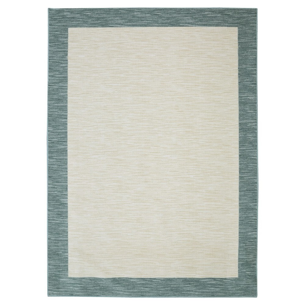Image of 5'X8' Shapes Area Rug Aqua - Mohawk, Blue