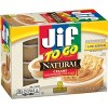 Jif To Go Natural Peanut Butter - 12oz/8ct - image 3 of 4