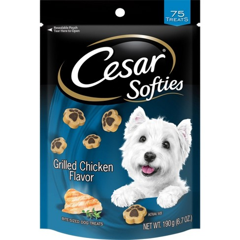 CESAR SOFTIES Grilled Chicken Flavor Dog Treats - 6.7 oz. 75 Treats - image 1 of 3