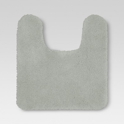 Performance Nylon Contour Bath Rug Classic Gray - Threshold™
