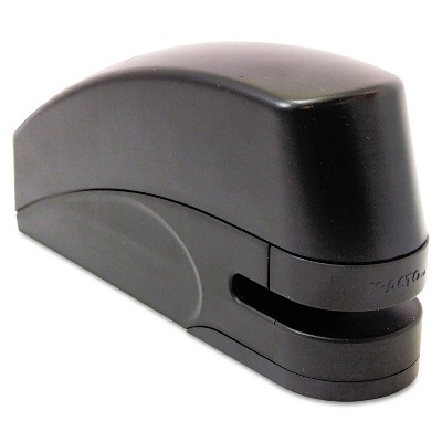 X-ACTO Electric Stapler with Anti-Jam Mechanism 20-Sheet Capacity Black 73101