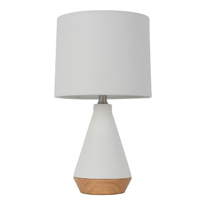 Modern Tapered Ceramic Table Lamp White (Includes Energy Efficient Light Bulb)- Project 62™
