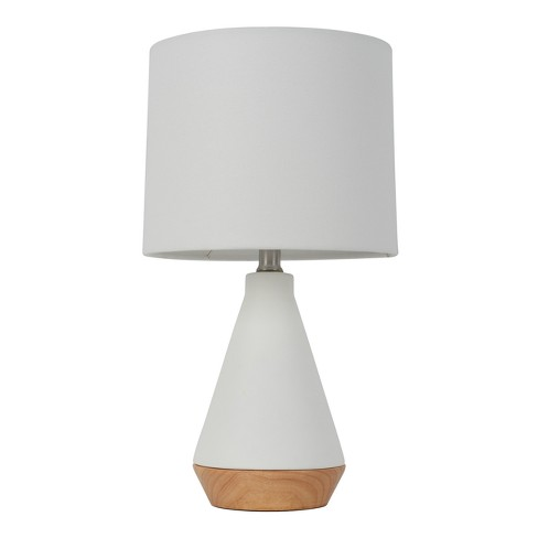 Tapered Ceramic with Wood Detail Table Lamp - Project 62™ - image 1 of 3
