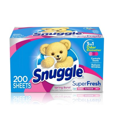 Snuggle Super Fresh Sheet Spring Burst - 200ct