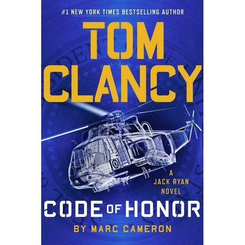 Tom Clancy Code of Honor - Large Print by  Marc Cameron (Hardcover) - image 1 of 1