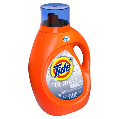 Tide Ultra Stain Release High Efficiency Liquid Laundry Detergent - 92 fl oz - image 1 of 3