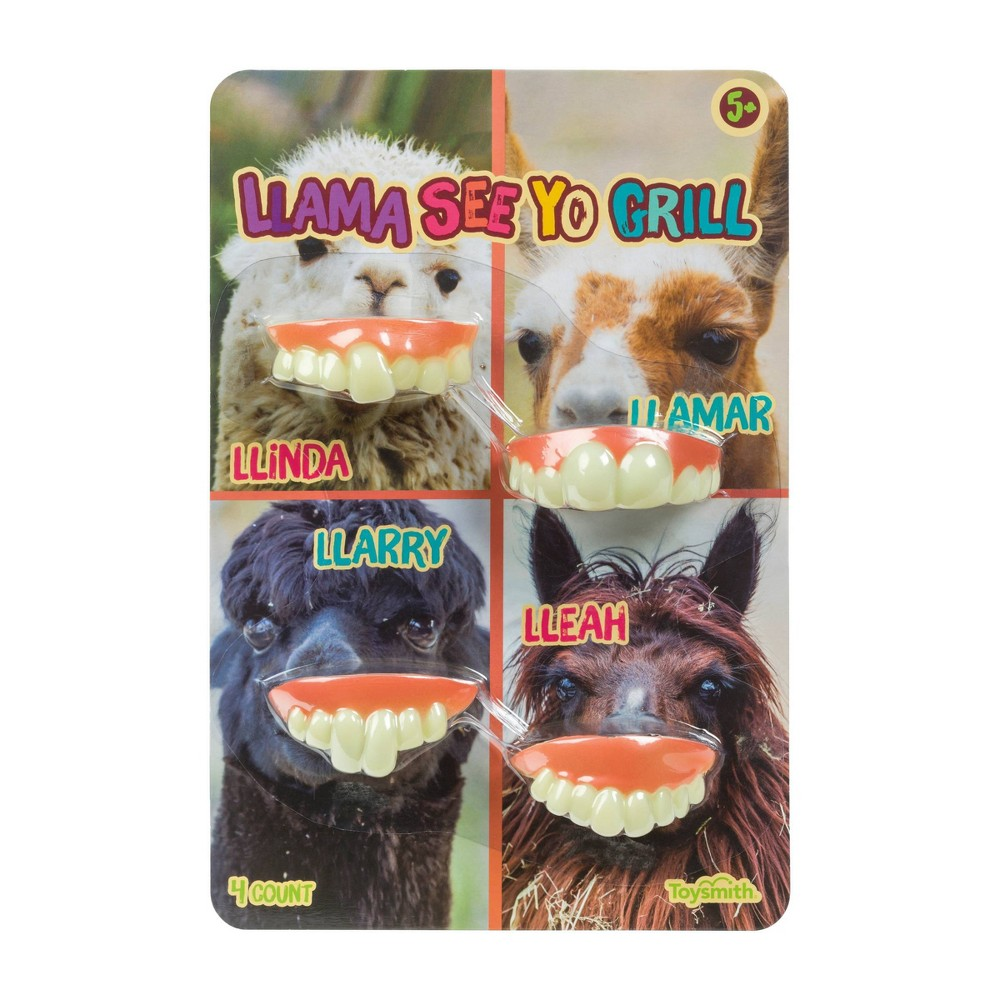 "Image of ""4ct """"Llama See Yo Grill"""" Party Favor"""