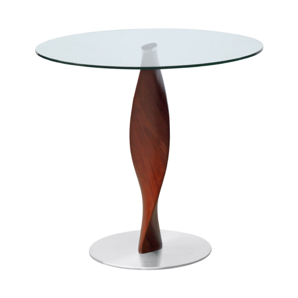 Edge Dining Table 36 - Clear - Fine Mod Imports