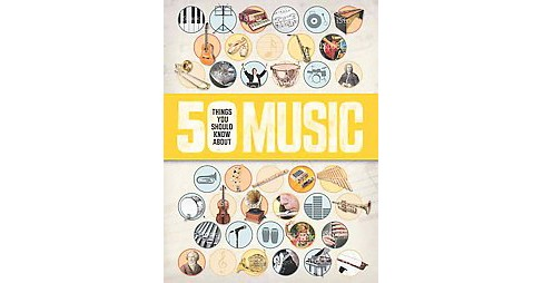 50 Things You Should Know About Music (Paperback) (Rob Baker) - image 1 of 1