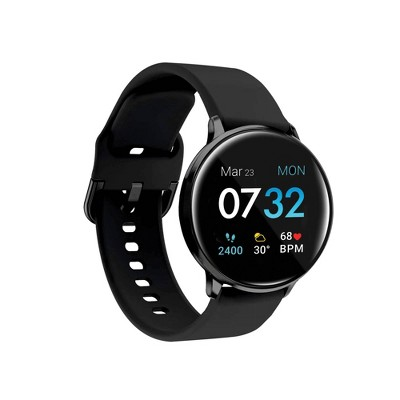 iTouch Sport Fitness Smartwatch - Black Case with Black Strap