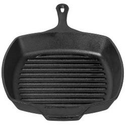 "Lodge 10.5"" Cast Iron Square Grill Pan"