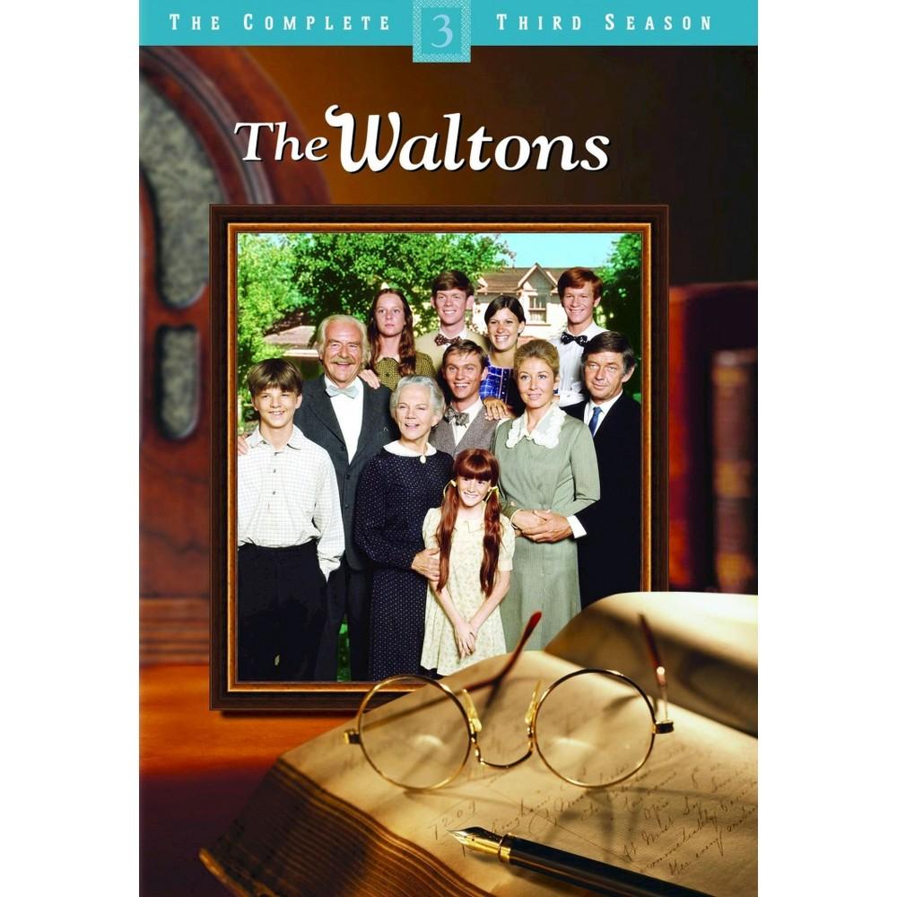 The Waltons The Complete Third Season Dvd