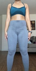 Women S Simplicity Mid Rise Leggings All In Motion Target