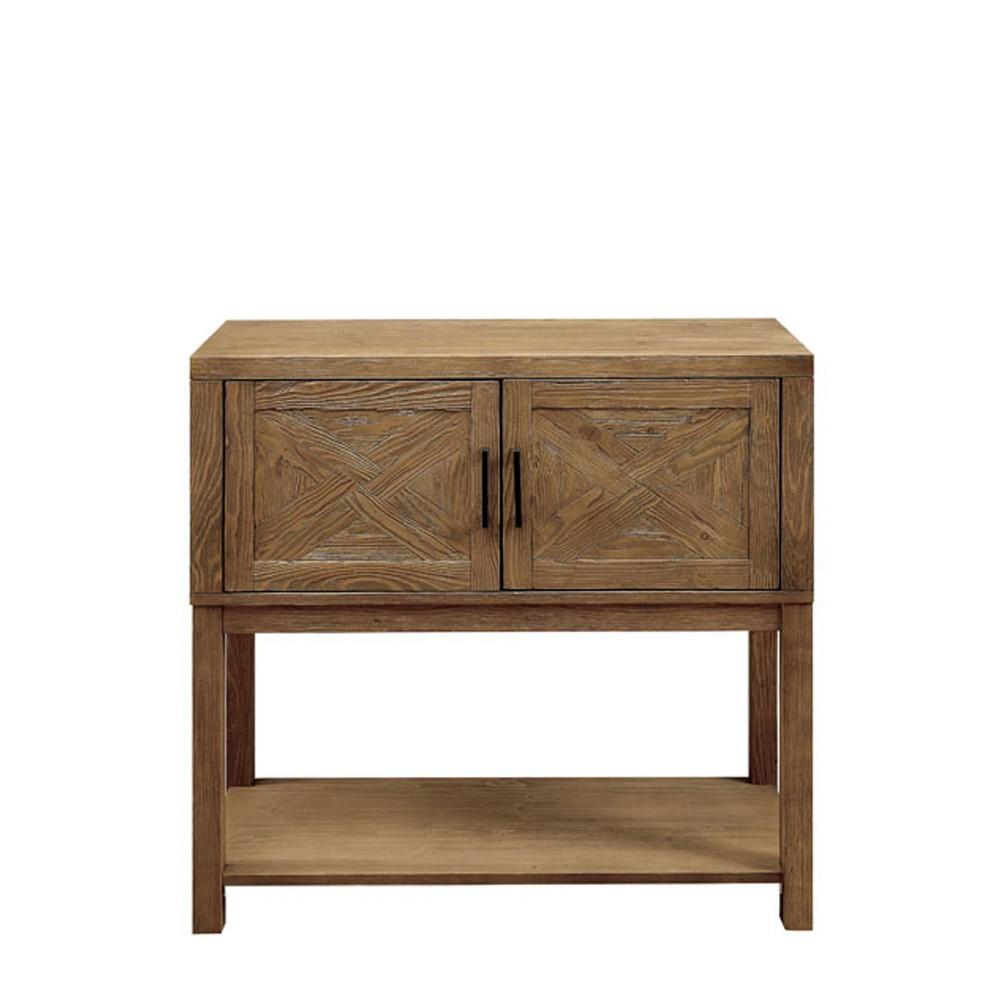 Macy Storage Cabinet Natural ioHOMES