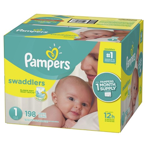 571352c88 Pampers Swaddlers Disposable Diapers One Month Supply -  br  (Select ...