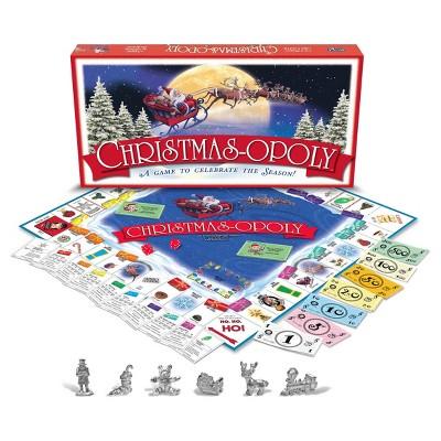 Christmas opoly Game