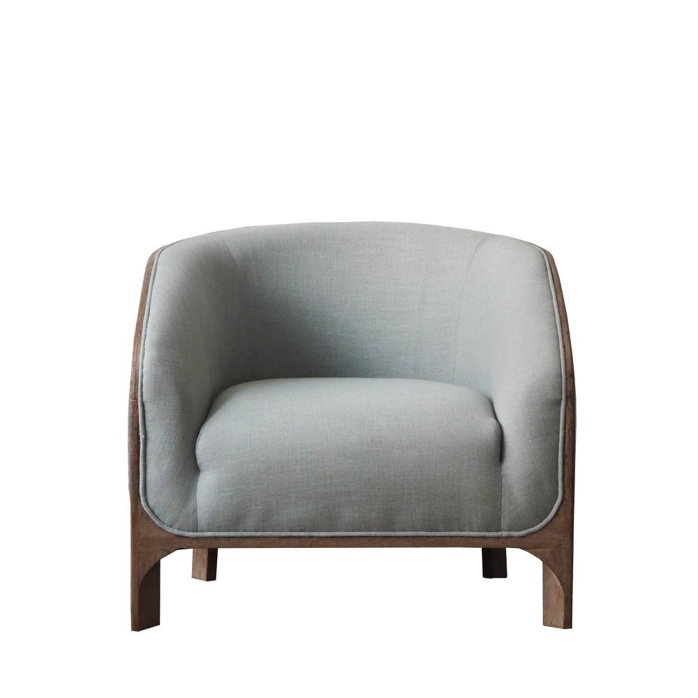 Burnham Home Designs Griffey Sofa Chair Light Blue - Boraam