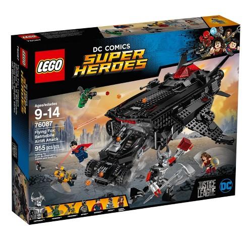 Lego Dc Comics Justice League Super Heroes Flying Fox Batmobile