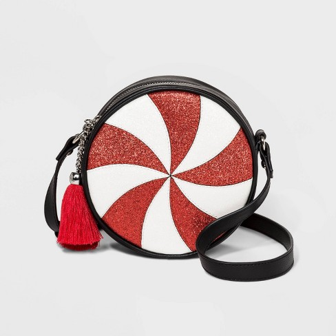 Mad Love Peppermint Crossbody Bag -  Red - image 1 of 3