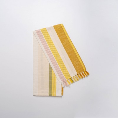 Cotton Striped Kitchen Towel - Threshold™