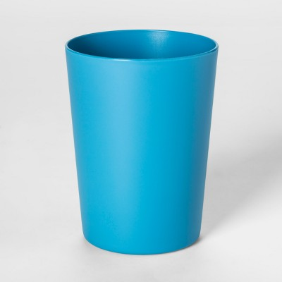 18oz Plastic Short Tumbler Blue - Room Essentials™