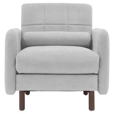 Savanna Arm Chair Smoke Gray - Serta