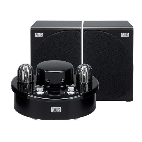 SOLIS Bluetooth Stereo Vacuum Tube Audio System - Black (SO-7500) - image 1 of 4