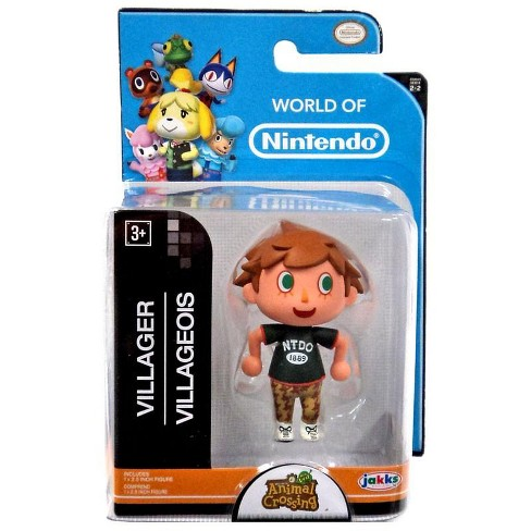 World Of Nintendo Animal Crossing Villager 2 5 Inch Mini Figure Version 1 Target