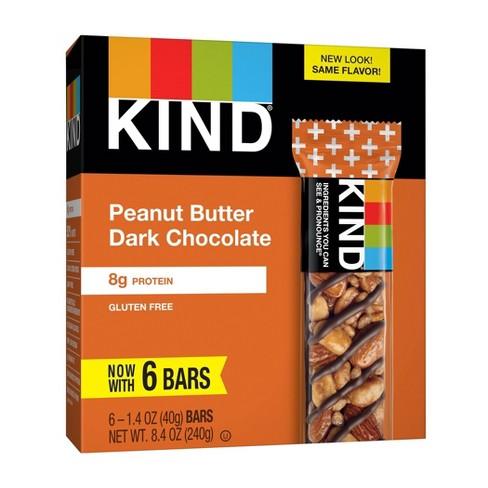 KIND Peanut Butter Dark Chocolate Bars - 14oz/6ct - image 1 of 4