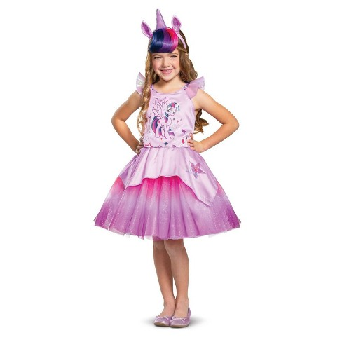 Toddler Girls' My Little Pony Twilight Sparkle Deluxe Halloween Costume 3T-4T - image 1 of 1