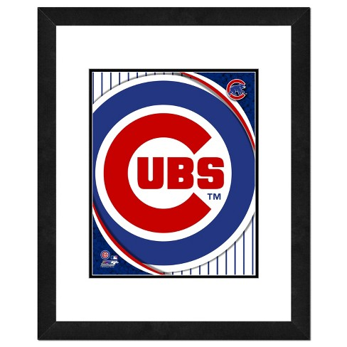 MLB Photo File 18x22 inch Team Logo Framed Wall Art - Double Matted - image 1 of 1