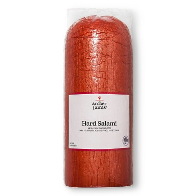Hard Salami - Deli Fresh Sliced - price per lb - Archer Farms™