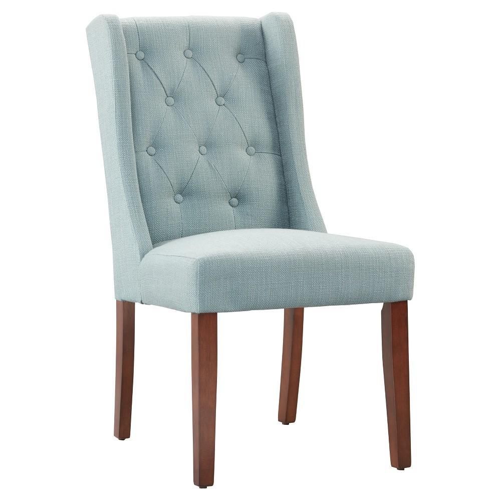 Islia Dining Chair - Slate Blue (Set of 2)